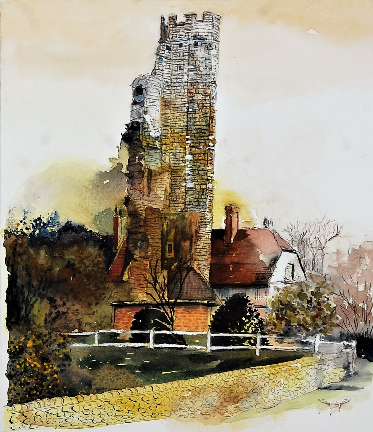 Watercolours for Improvers
